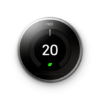 Nest Thermostat Off Image