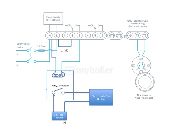 nest underfloor heating myboiler com rh myboiler com  installing multiple nest thermostats